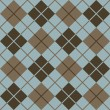 Argyle Pattern_Blue-Brown - Imagen vectorial