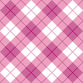 Bias Plaid_Pink — Stock Vector