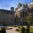 Stock Photo: Reims Cathedral, France