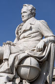Monument of Alexander von Humboldt — Stock Photo