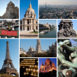 Paris collage — Stock Photo #10550835