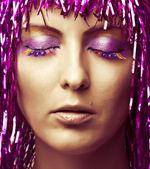 Fashion make-up — Stock Photo