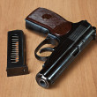 Russian 9mm handgun PM (Makarov) — Stock Photo #9238042
