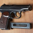 Russi9mm handgun PM (Makarov) — Stock Photo #9238059