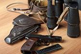 Military russian 9mm handgun — Stock Photo