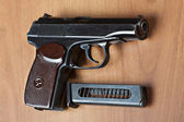 Russian 9mm handgun PM (Makarov) — Stock Photo