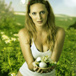 Royalty-Free Stock Photo: Sexy woman easter bunny