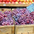 Royalty-Free Stock Photo: Red grapes at the local market