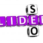 3D Seo Lider Crossword — Stock Photo