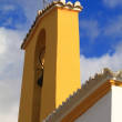 Foto de Stock  : White church in Ibiza, Spain