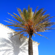 Стоковое фото: White church in Ibiza,Balearic Island, Spain