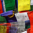 Buddhist prayer flags — Stock Photo