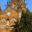Victoria Terminus Train Station in Mumbai (India) — ストック写真