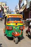Tuk Tuk auto rikshaw in Varanasi. — Stock Photo