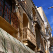 Traditional Maltese balcony, Valletta, Malta — Stock Photo #9685179