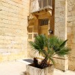 Traditional Maltese architecture in Valletta, Malta — Stock Photo #9685859
