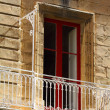 Traditional Maltese architecture in Valletta, Malta — Stock Photo