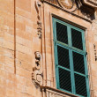 Traditional Maltese architecture in Valletta, Malta — Stock Photo #9686445