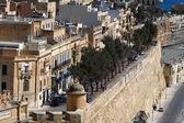 Traditional Maltese architecture in Valletta, Malta — Stock Photo