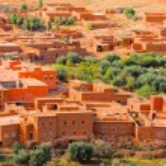 Ait Ben Haddu Marocco. HDR image — Stock Photo