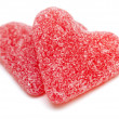 Royalty-Free Stock Photo: Two heart-shaped candies