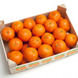Mandarins in box — Stock Photo #8944391