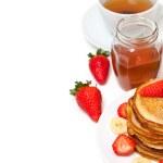 Yummy buttermilk pancakes — Stock Photo #9765802