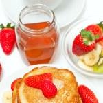 Yummy buttermilk pancakes — Stock Photo #9766058