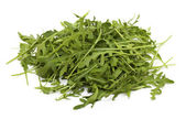 Heap of rucola leafs — Stock Photo