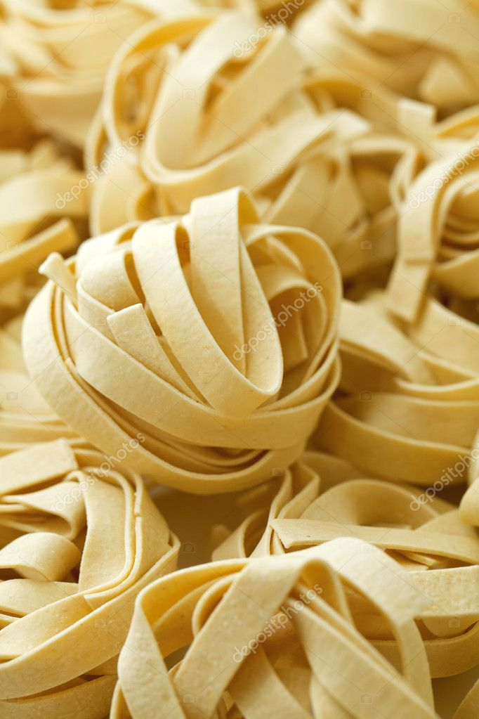 Pasta fettuccine background — Stock Photo #9763832