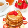 Yummy buttermilk pancakes — Stock Photo #9781080