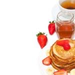 Yummy buttermilk pancakes — Stock Photo #9782425