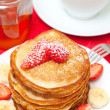 Yummy buttermilk pancakes — Stock Photo #9782445