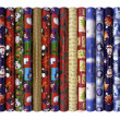 Stock Photo: Christmas wrapping paper