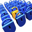 Padlocks - Stock Photo
