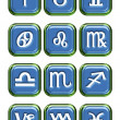 Astrology sign buttons — Stock Photo #10255855