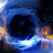 Stock Photo: Wormhole