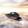 George Adamski UFO — Stock Photo