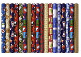 Christmas wrapping paper — Stock Photo