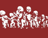 Grafika klonowania człowieka — Zdjęcie stockowe