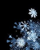 Festive snowflakes — Stock Photo