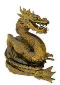 Chinese golden dragon — Stock Photo