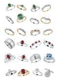 Luxury jewelry — Stock Photo