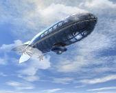 Futuristic air balloon — Stock Photo
