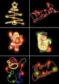 Christmas decoration template — Stock Photo
