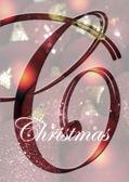 Vánoční šablona titulní — Stock fotografie