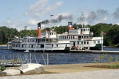 Canadian Steamboat — Stock Photo