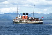 The Waverley Paddle Steamer — Stock Photo