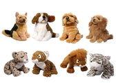 Soft animal toys — Stock Photo