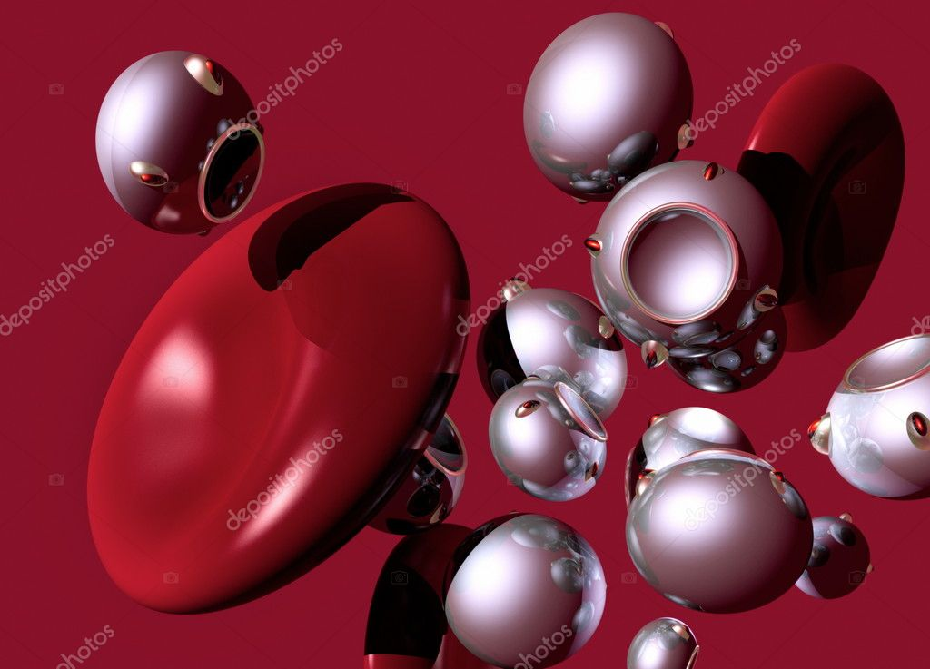 These tiny nanorobots may be used to detect and repair defects in the body's organs and tissues in the future. — Stock Photo #10256871